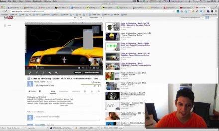 Curso de Photoshop #06.1 PATH TOOL – Ferramenta Path – VIDEO RESPOSTA
