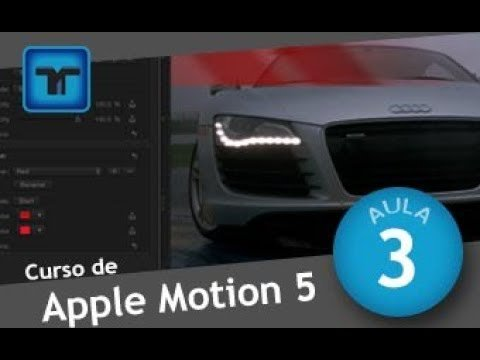 Curso de Apple Motion #02 TIMELINE – LINHA DO TEMPO – Motion Design – Tutorial de Motion