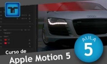 Curso de Apple Motion #04 PROJECT PROPERTIES – Propriedades do Projeto no Motion 5