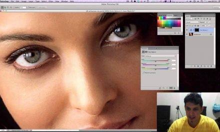 COMO MUDAR COR DOS OLHOS NO PHOTOSHOP? Método Profissional – Tutorial de Photoshop CC
