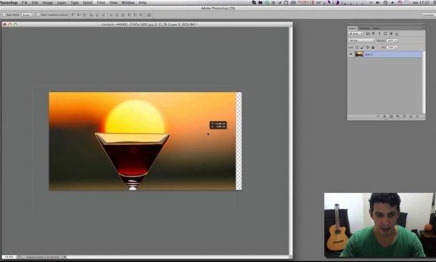 Curso de Photoshop #16 CROP e CANVAS TOOL – Redimensione precisamente suas imagens