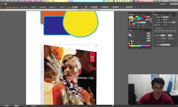Curso de Illustrator CC #11 CLIPPING MASK – Power Clip – Use objetos como Máscara Facilmente.