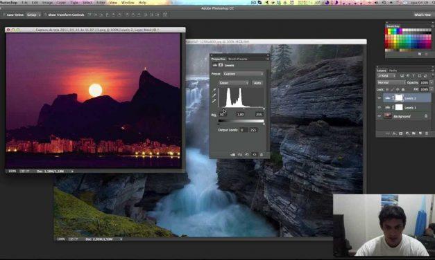 Curso de Photoshop CC #21 LEVELS (Níveis) – Ajuste profissional de Luz e Brilho no Photoshop