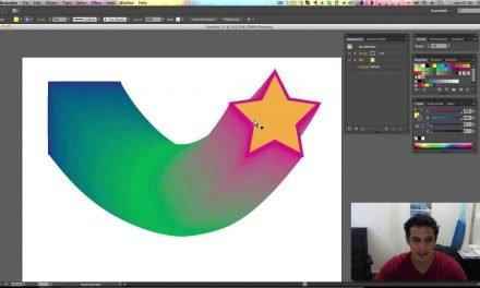 Curso de Illustrator CC #17 Ferramenta Blend, Aplique um efeito morph nos vetores.
