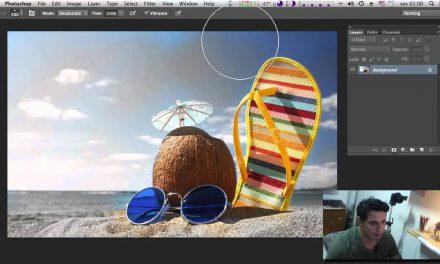 Curso de Photoshop CC #30 Ferramenta Esponja Photoshop (Sponge tool)