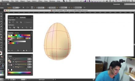 MESH TOOL – Curso de Illustrator CC #20 – Ferramenta Mesh do Illustrator