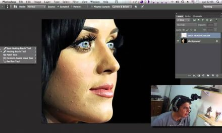 Limpeza de Pele no Photoshop – Curso de Photoshop CC #32 SPOT HEALING TOOL