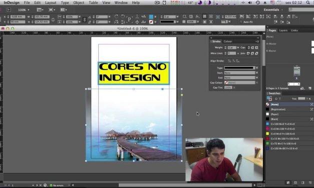 Curso de INDESIGN CC – Trabalhando com Cores no Indesign  #15