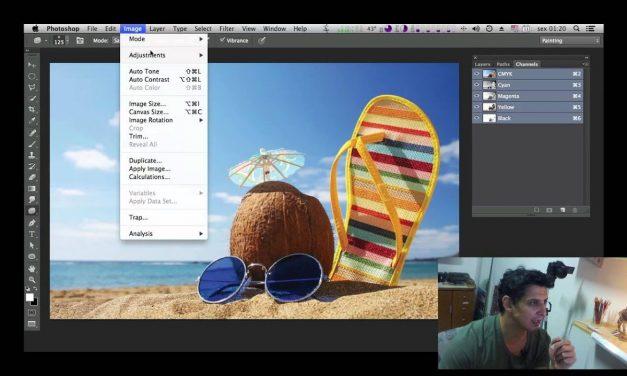 Curso de Photoshop CC #34 – Canais Photoshop (Channels).