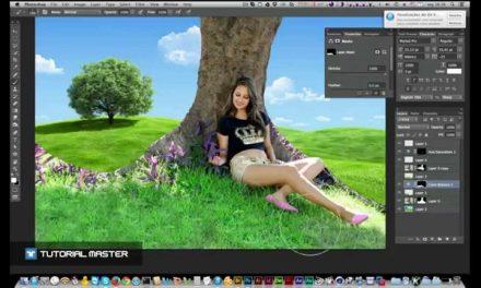 SPEEDART • Mostagem no Photoshop