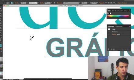 ILLUSTRATOR CONTA GOTAS – EyeDropper Tool Illustrator
