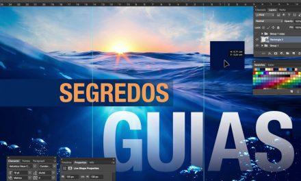 Segredos do Photoshop – O q vc não sabe das Guias do Photoshop (Guides)