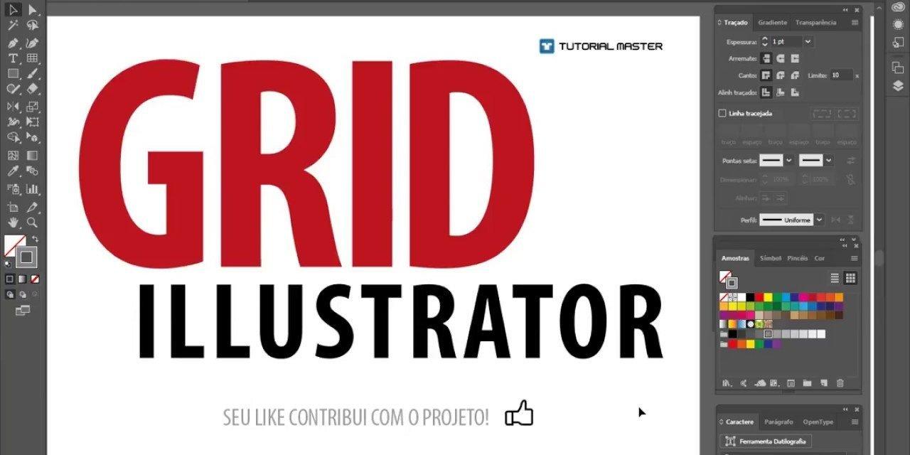 MÉTODO SUPER PRECISO de como criar GRID no Illustrator – Tutorial