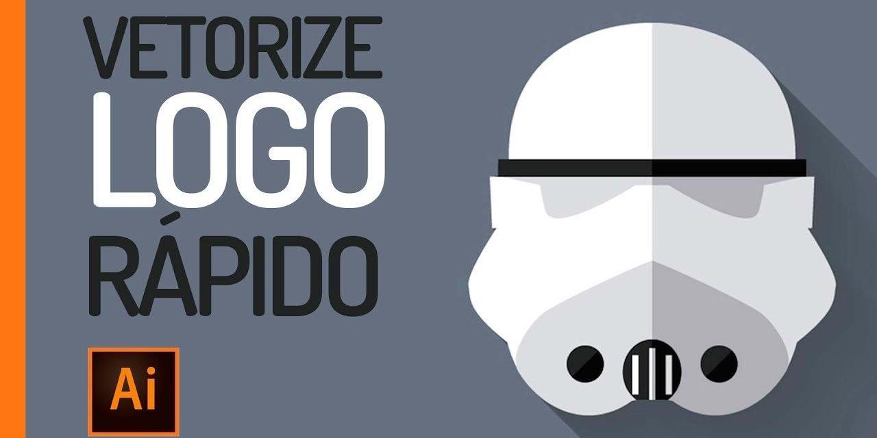 MÉTODO RÁPIDO – Como Vetorizar um logotipo no Illustrator?