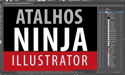 ATALHOS NINJA do Adobe Illustrator – Curso de Illustrator CC 2017 / 2018