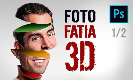 1/2 – COMO FAZER EFEITO 3D NO PHOTOSHOP – Efeito 3D de Rosto Fatiado no Photoshop