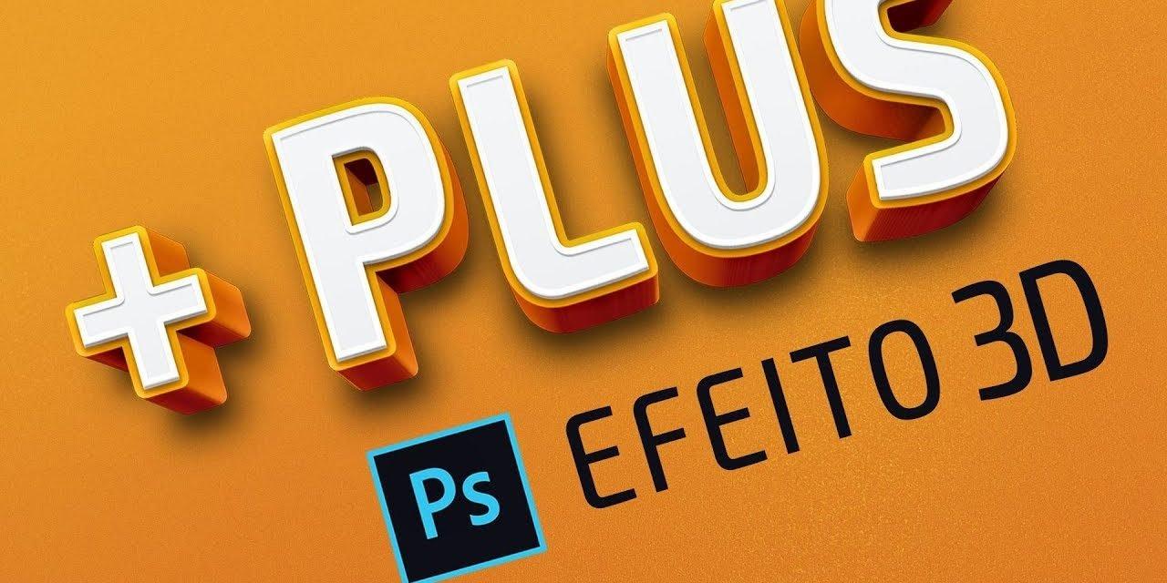 COMO FAZER E BAIXAR EFEITO DE TEXTO 3D NO PHOTOSHOP – Tutorial Avançado de Adobe Photoshop CC 2018