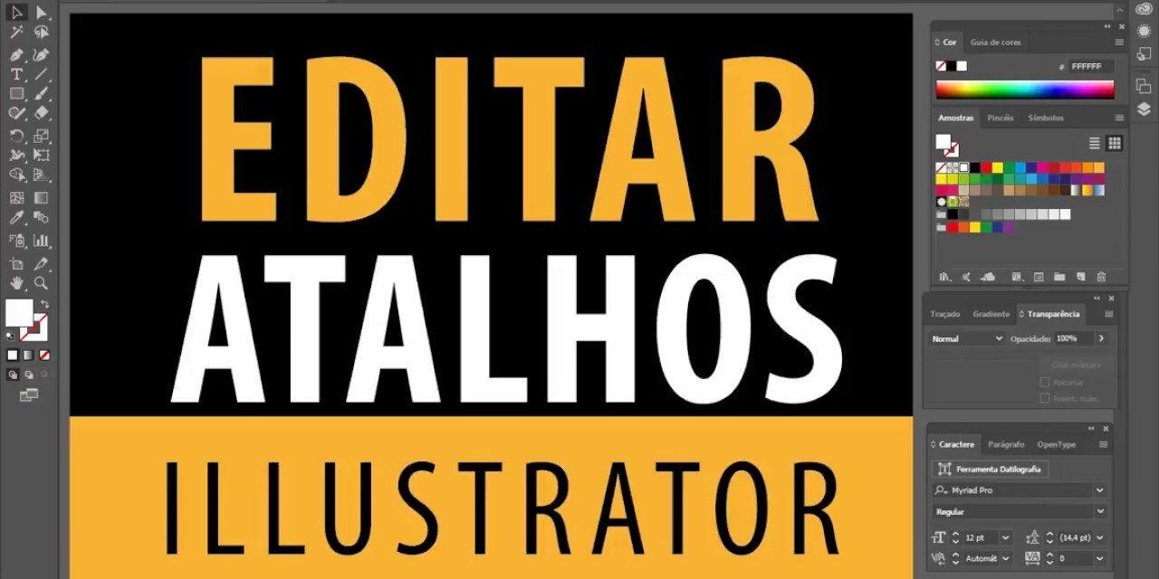 Curso de Illustrator CC – Como editar atalhos do Illustrator – Shortcuts