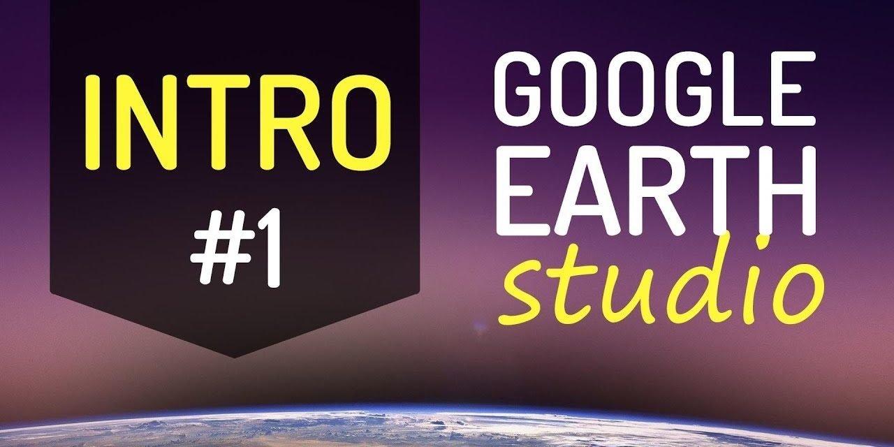 #1 – GOOGLE EARTH STUDIO – INTRODUÇÃO de como fazer animação 3D no google earth studio pro.