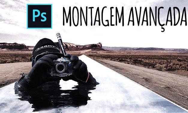 COMO FAZER Montagem de Fotos profissional no Photoshop CC 2018 – Curso de Photoshop