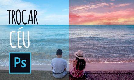 SUPER FÁCIL! Como trocar o céu de uma foto no Photoshop. Curso de Photoshop CC 2018