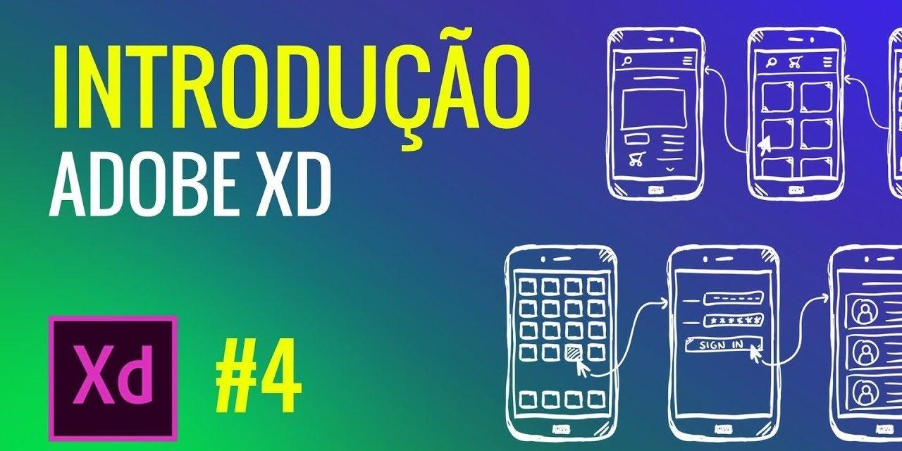CURSO DE ADOBE XD – INTRODUÇÃO – Conhecendo a interface do programa