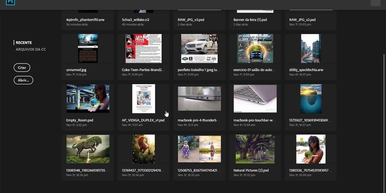 MELHOR METODO de como converter imagens no Photoshop em lote! Curso de Photoshop online