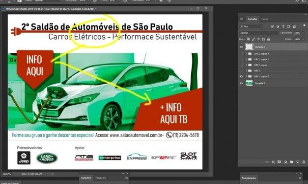 TEORIA DO DESIGN e Processo Criativo de aluno do Curso de Design Gráfico online.