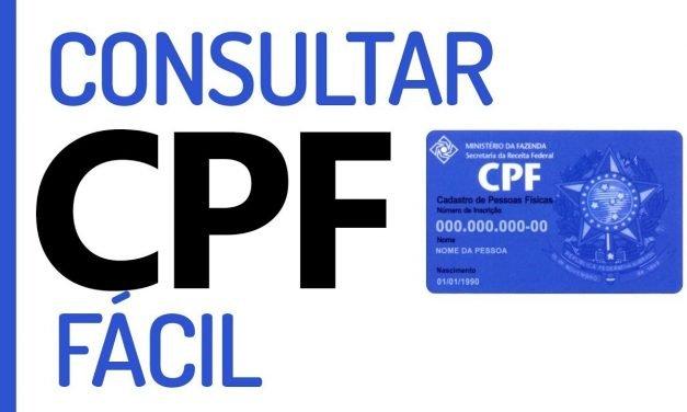 COMO CONSULTAR CPF ONLINE GRÁTIS – Rápido e Fácil!