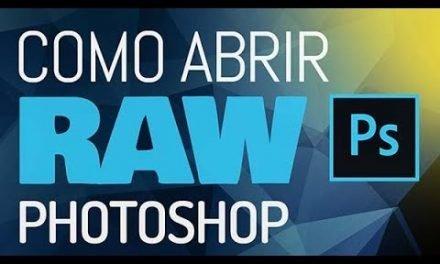 COMO ABRIR E CONVERTER IMAGEM RAW no Photoshop