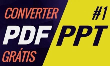 SUPER FÁCIL! COMO CONVERTER PDF EM PPT, online, grátis e sem programas. Como converter Power point.