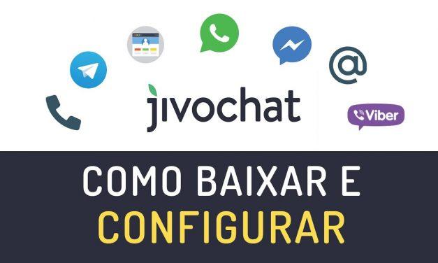 COMO BAIXAR E INSTALAR O JIVOCHAT. Melhor programa de Chat para seu site, negócio e redes sociais.